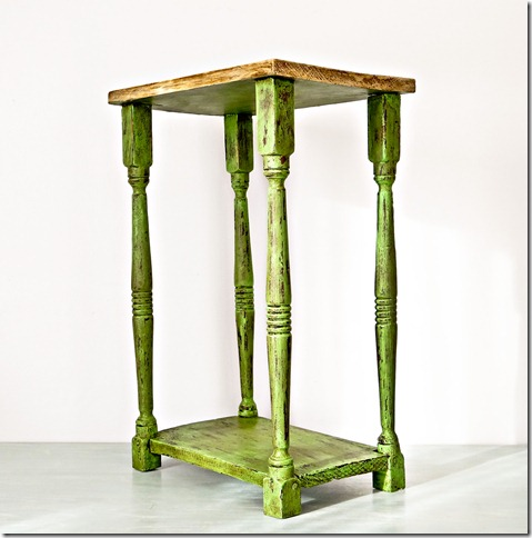 Green Side Table Profile 2