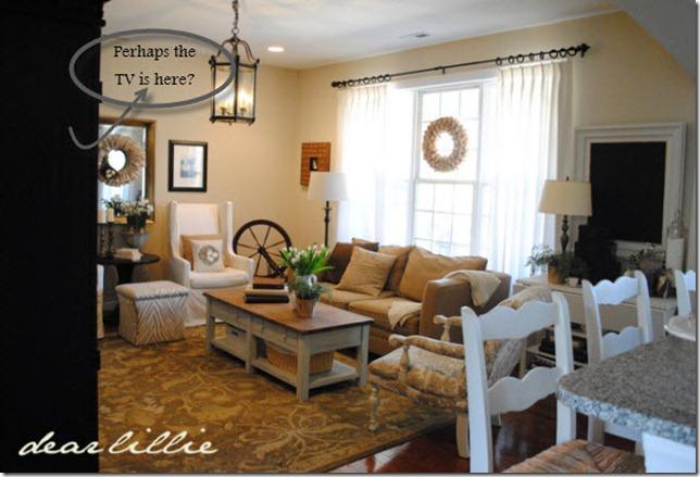Dear Lillie Living Room