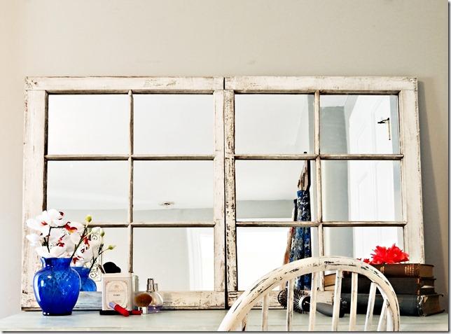 Reclaimed Window to Mirror Profile