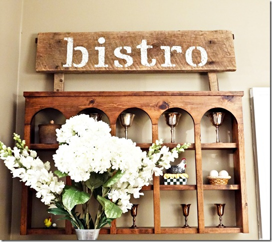 Bistro Sign Styled