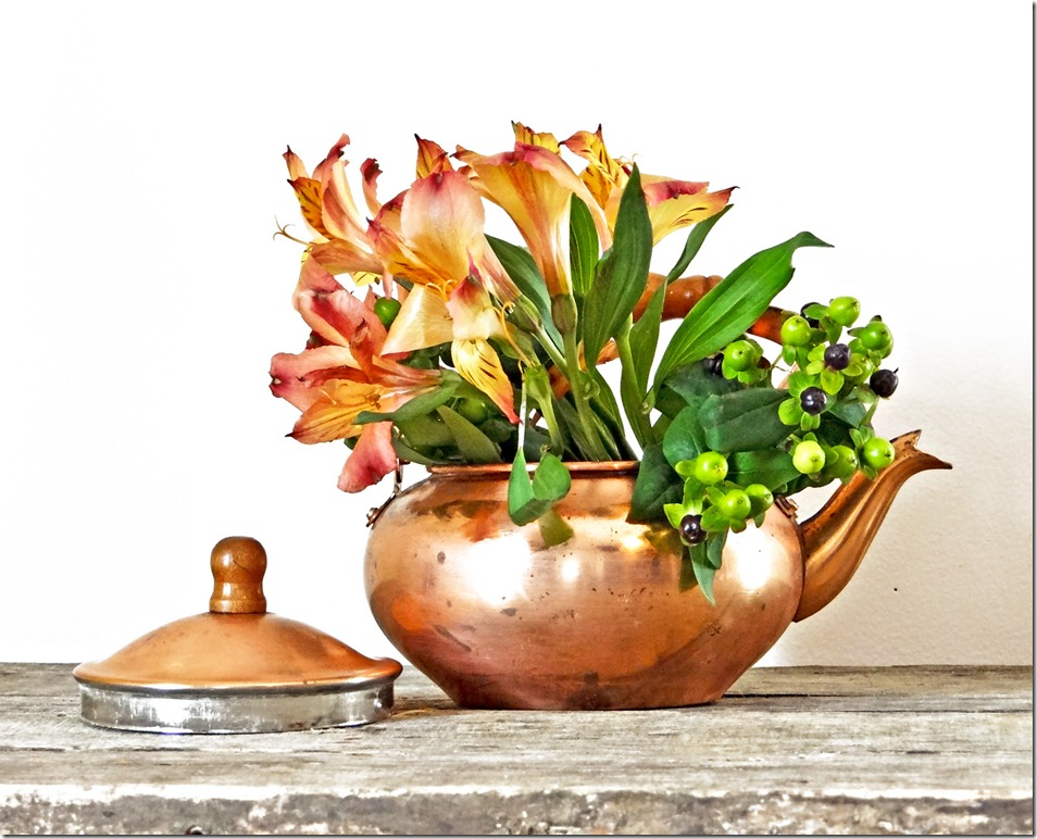 Copper Pot Styled