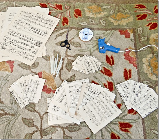 Stages of Music Wreath