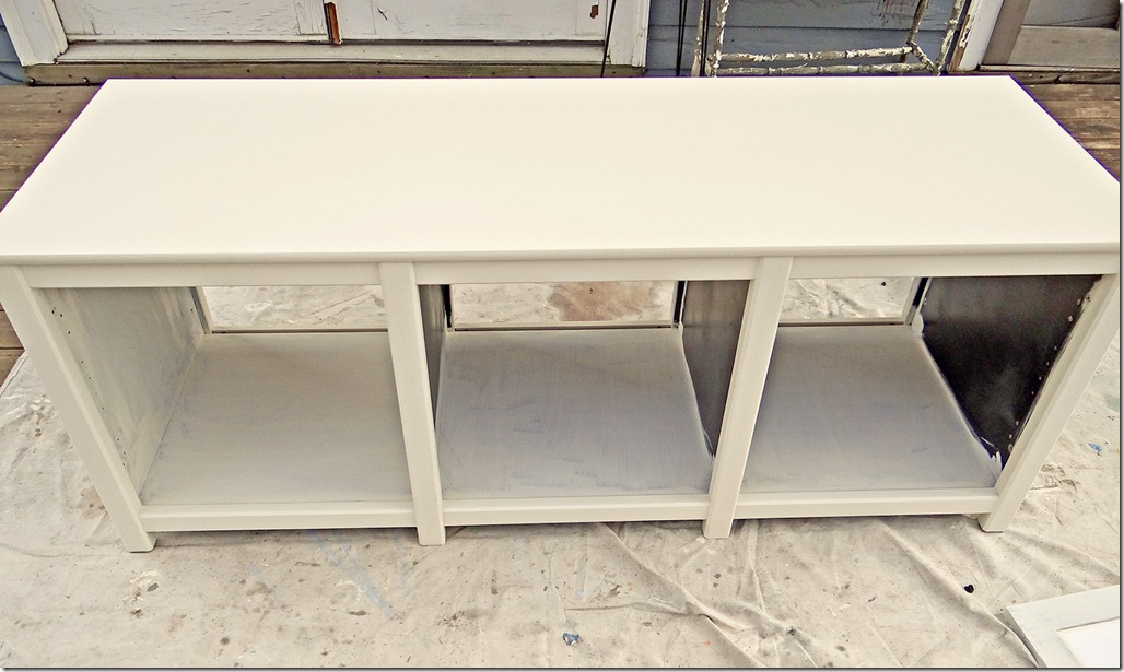 Entertainment Unit White