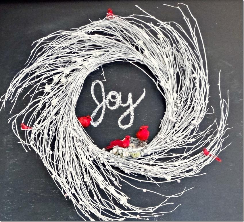 Joy to the World Wreath