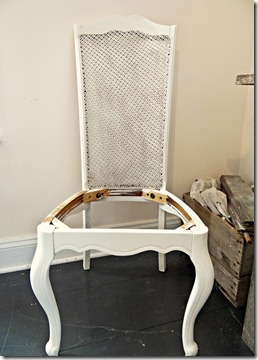 Cane Back Chair Partial