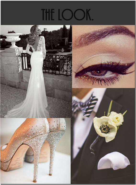 Black and White Wedding 6